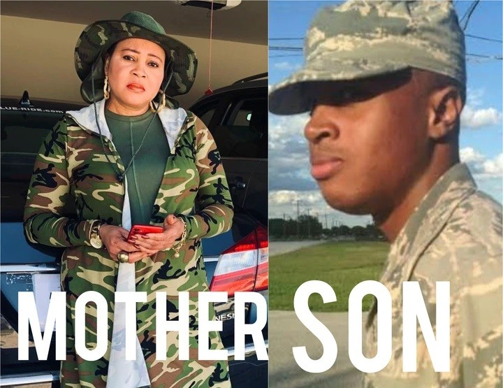 Meet The Nollywood Actress, Bukky Wright Whose Son, Eniola Is An American Air Force Officer