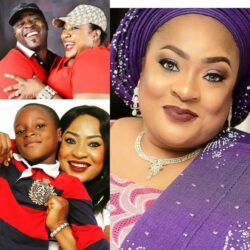 Meet The Beautiful Yoruba Actress Foluke Daramola, Husband And Her Children