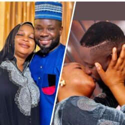 Yoruba Actor Ibrahim Yekini Shares Loved Up Photos With Actress Kemi Afolabi Adesipe.