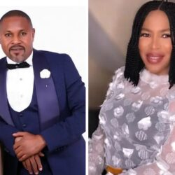 Meet Nollywood Actor Saheed Balogun's First Wife And Two Lovely Children (Photos)