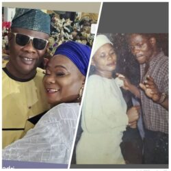 Yoruba Actor Yinka Quadri Shares Throwback Pictures Of Himself And His Wife.