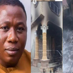 'I Would Revenge' – Sunday Igboho Vows After Hoodlums Burnt His House