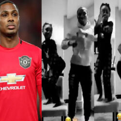 Footballer, Odion Ighalo Shares TikTok Video Of Him Dancing With His Daughter