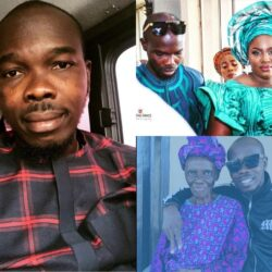 Lovely Photos of Yoruba Actor Ijebu,His Wife,Kids and Adorable Mother