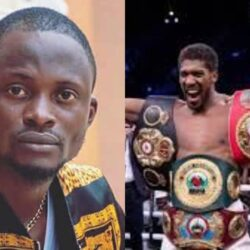 Fans Pity Yoruba Film Actor, Jigan Babaoja As He Asks For Anthony Joshua's Hand In A Fight