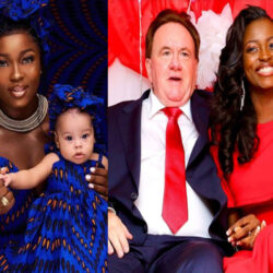 """""""You Are Still The Best Man For Me"""" – BBNaija's Ka3na Hails Her Aged White Husband On His Birthday"""