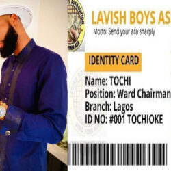 """""""We Can't Afford To Be Stingy This Year"""" – BBNaija's Tochi Says As He Joins 'Lavish Boys Association'"""
