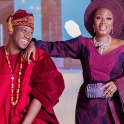 Yoruba Actor Lateef Adedimeji sheds hot tears as Adebimpe Oyebade gives him a huge surprise ahead of his 35th birthday (video)