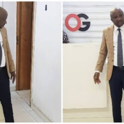 """Egbon Mi you look Handsome"" –Femi Adebayo, Muyiwa Ademola and Others React As Yoruba Actor, Sanyeri Shares picture of him wearing suit"