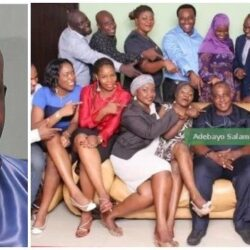 Meet Veteran Actor Adebayo Salami wives and 18 children