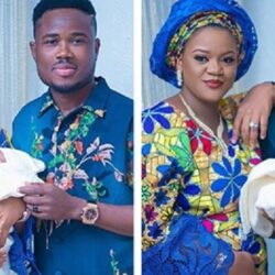 Nigerian Singer Adeyinka Boye And His Wife Welcomes A Baby Girl And Also Celebrates 3rd Anniversary.
