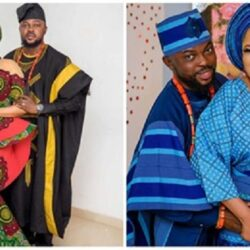 """Orí ni ẹ́, óò ní d'ìrù lágbára Ọlọ́run""- Nollywood Actress Toyin Abraham pray for her Husband Kolawole Ajeyemi as he Celebrate his birthday today"