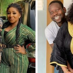 Actress Mide Martins Gushes Over Husband As She Shares Rare Photo With Him