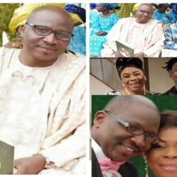 Meet Sunday Adewale, Toyin Adewale's Husband, Father of Music Star Mayorkun who is a veteran Actor