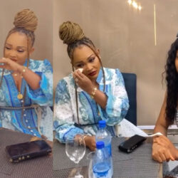 Actress, Mercy Aigbe Breaks Down In Tears As Group Of Ladies Shower Her With Love (VIDEO)