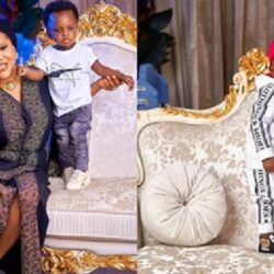 'He Is Too Cute' – Fans And Nollywood Celebrities React To New Photo Of Toyin Abraham's Son, Ire