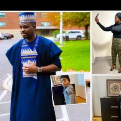 This Popular Yoruba Actor Babatunde OwoKoniran Currently Lives In The US With His Family. See Their Lovely Photos