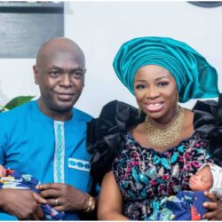 Couple welcomes set of twins after 16 years of marriage, share testimony (Photos)