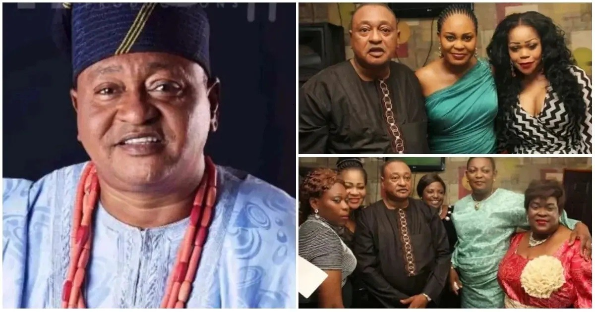 Jide Kosoko Opens Up: I Have Over 12 Children & 4 Wives, I Lost 2 To Childbirth Within A Year