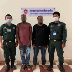 Two Nigerian nationals arrested in Cambodia over online scam