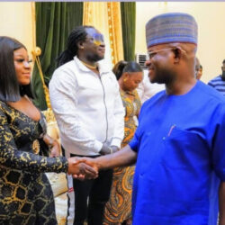 Actress Uche Elendu defends her colleague, Destiny Etiko over outfit she wore to visit Kogi governor, Yahaya Bello