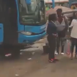 Suspected Fulani herdsmen nabbed with guns while trying to board a bus at Abuja Park in Upper Iweka, Anambra state (video)