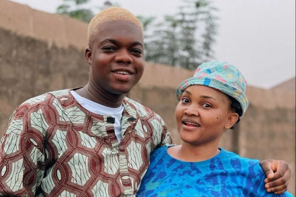 Have Been Dreaming About This Day – Cute Abiola Says as He Hang Out With Mercy Aigbe