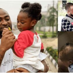 'Father Abraham of Naija' – Reactions as video of Davido bonding with his second daughter, Hailey surfaces | Watch