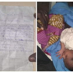 """Mother dumps her newborn baby in Katsina with a note saying """"she was impregnated and abandoned by a man who promised to marry her"""""""