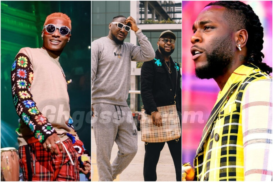 Davido's Cousin Throws Shades At Wizkid & Burna Boy, See What He Posted