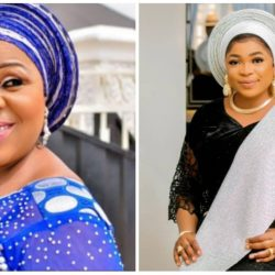 """Sweet Mum With A Heart Of Gold"" – Yoruba Actress Kemi Afolabi Appreciate Actress Fausat Balogun For The Motherly Love She Always Show Her"