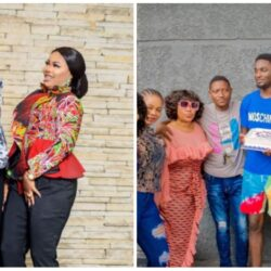 """God gave us victory"" – Yoruba Actor Adeniyi Johnson Appreciate His Wife Seyi Edun As He Gets A Pre-birthday Surprise From Her (Photos & Video)"