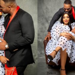 """If marry the right woman, you will be complete,if you marry the wrong one and you will be finished"" – Nollywood Actor Bolanle Ninalowo Sends A Heartwarming Valentine Message To His Wife (Video & Photos)"