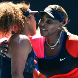 Serena William in tears as Naomi Osaka sends her packing from Australian Open