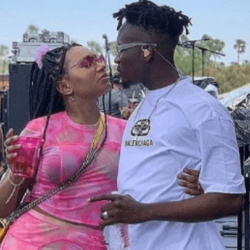 Billionaire's daughter, Temi Otedola gets an early valentines surprise from her boo, Singer Mr Eazi