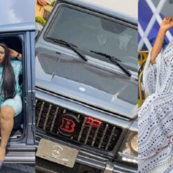 Nkechi Blessing begs Toyin Abraham to dash her the new G-wagon