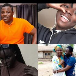 His Mum, His Beautiful Daughter & Cute Son: See Lovely Photos Of Yoruba Actor, Muyideen Oladapo popularly known as Lala's Family