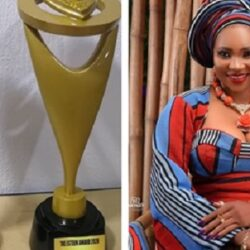 """""""It's a DOUBLE HONOUR"""" – Congratulation Pours In For Yoruba Actress Jumoke Odetola As She Wins Actress of the year And Face of Nollywood Awards At The Esteem Awards (Photo)"""