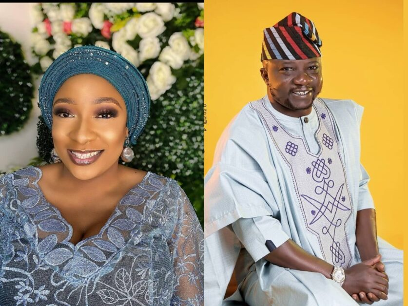 Yoruba Actor, Olaniyi Afonja Sanyeri Celebrates His Wife's Birthday With Sweet Words As She Turn A Year Older Today (Video)