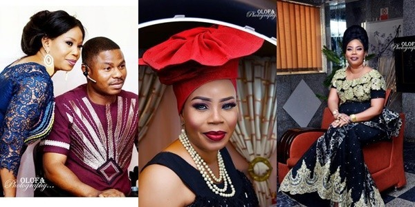 Happy Birthday to Temitope Titilope Wife of Yinka Ayefele;  Yinka Ayefele Celebrates His Beautiful Wife As She Clocks 50 Today (video)