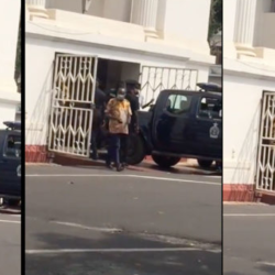Man slumps and dies at Ghana's Supreme Court shortly before President Nana Akuffo Addo was affirmed winner of the Presidential Election (video)