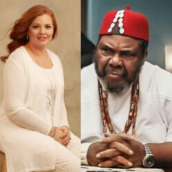 Clergywoman, Laurie Idahosa apologises to Pete Edochie after she said his mother was a victim of rape and a child bride