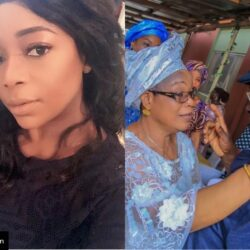 Veteran Nollywood Actress Bimbo Akintola Celebrates Her Mom As She Turn A Year Older Today (Photos)