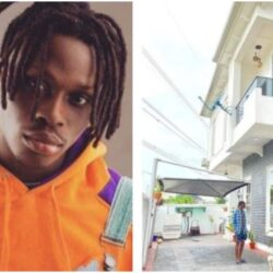 Rapper Olamide, Don Jazzy, others react as Fireboy flaunts his newly acquired Lagos mansion