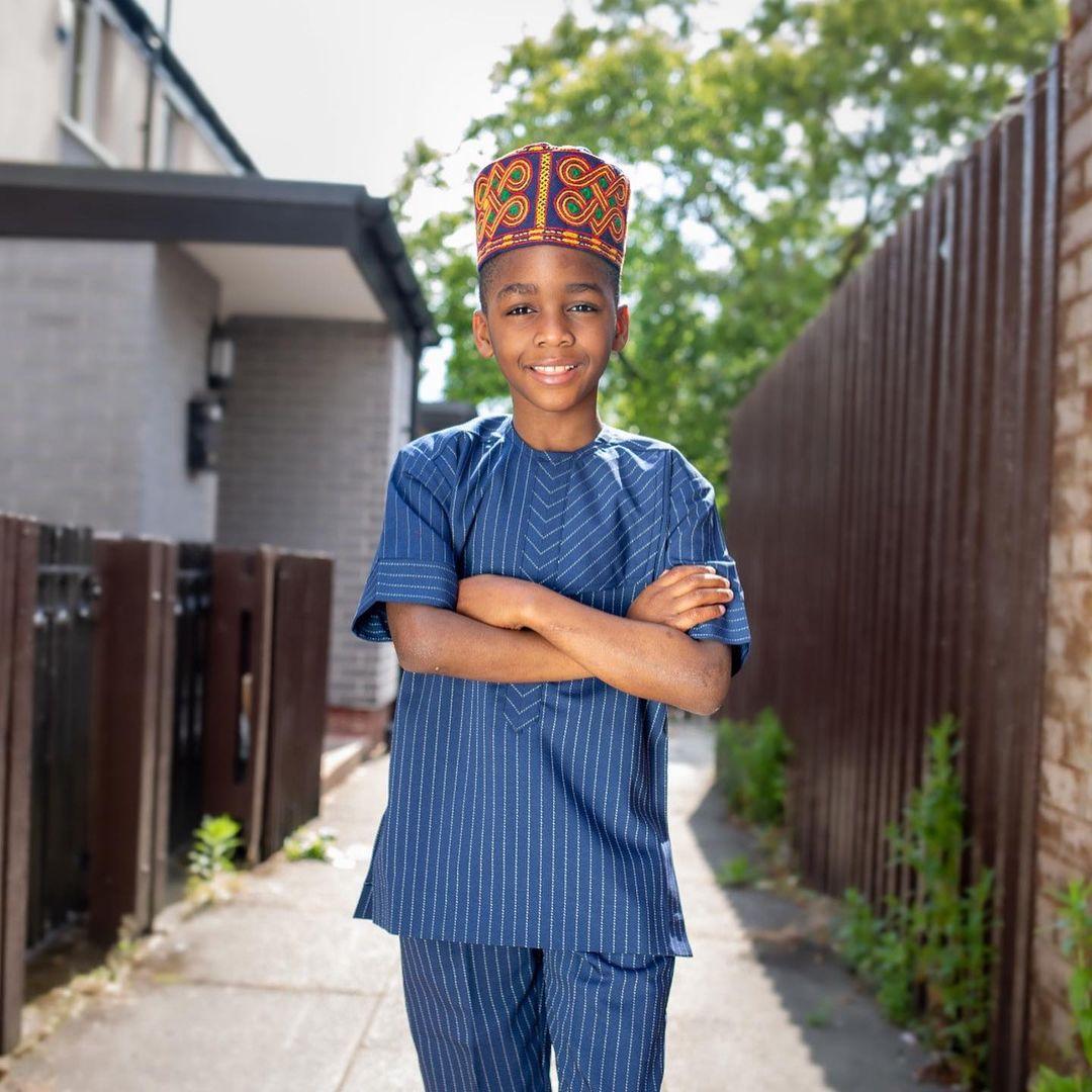 Meet Yoruba Actress, Liz Da-Silva's Son