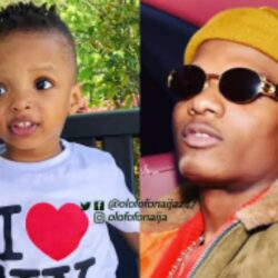 'Na this boy resemble wizkid pass' – Fans react as rare video of Wizkid's second son, Ayodeji surfaces