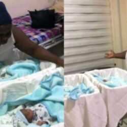 Nigerian woman welcomes a set of twins after 18 years of waiting