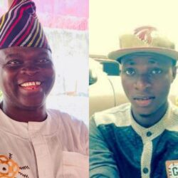 Meet the Actor Who Produced first ever Home-Video Film in Nigeria. Ade Ajiboye (Big Abass) and His Son who is also an actor
