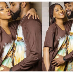 Banky W and Adesua Etomi-Wellington all loved up in new stylish photos