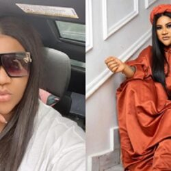 'My husband loves me with all my madness'- Yoruba Actress Nkechi Blessing Says As She Shares Beautiful Photo